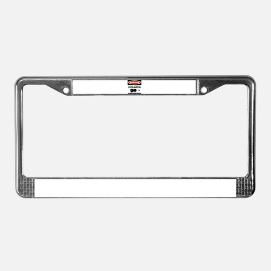 Cello Student License Plate Frame