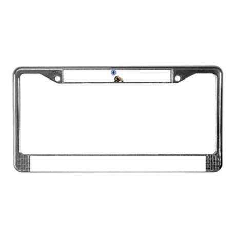 Peace Of Mind License Plate Frame