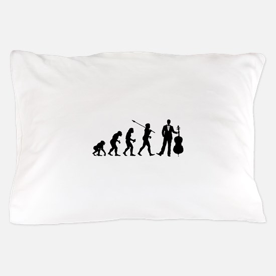 Cellist Evolution Pillow Case
