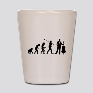 Cellist Evolution Shot Glass
