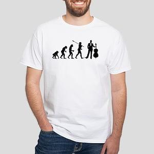 Cellist Evolution White T-Shirt