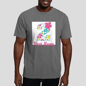 2nd Birthday Tropical Mens Comfort Colors Shirt