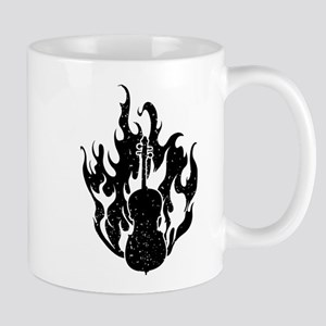 Flaming Cello Mug