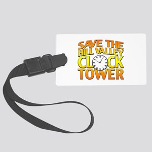 Save The Clock Tower Large Luggage Tag