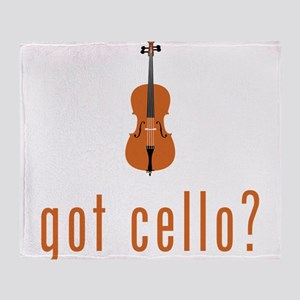 Got Cello? Throw Blanket