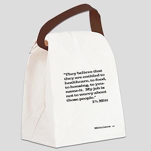 1% Mitt Shirt Light Canvas Lunch Bag