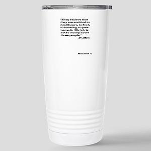 1% Mitt Shirt Light Stainless Steel Travel Mug