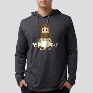 jesusandtripletssyellow Mens Hooded Shirt