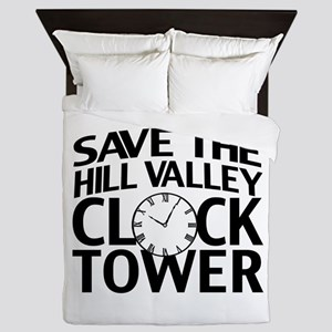 Save The Clock Tower Queen Duvet