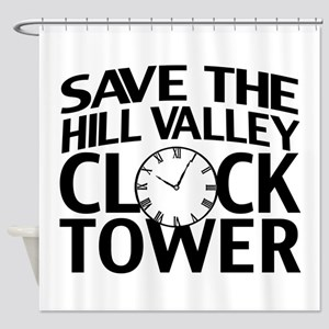 Save The Clock Tower Shower Curtain