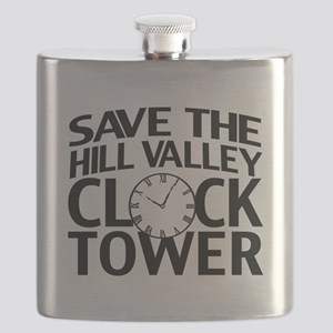 Save The Clock Tower Flask