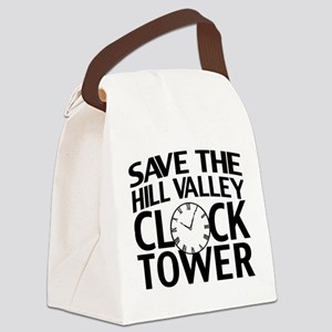 Save The Clock Tower Canvas Lunch Bag