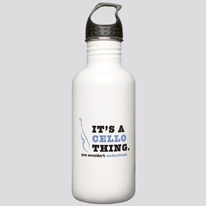 It's A Cello Thing Stainless Water Bottle 1.0L