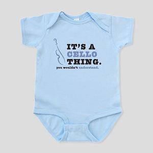 It's A Cello Thing Infant Bodysuit