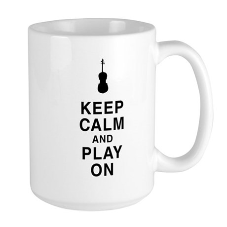 Play On Large Mug