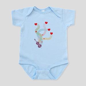 Lovely Cello Infant Bodysuit