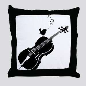 Song Bird Throw Pillow