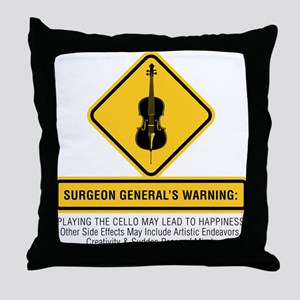 Surgeon General Throw Pillow