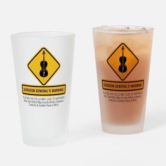 Surgeon General Drinking Glass