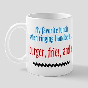 Burger Fries and a Shake Mug