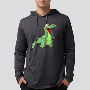 gvAlligator050 Mens Hooded Shirt
