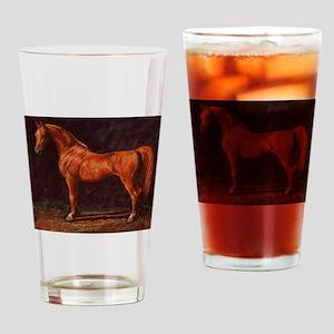 Arabian Stallion Drinking Glass