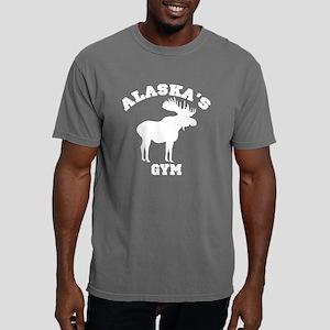 AK Moose Dark Shirt Mens Comfort Colors Shirt