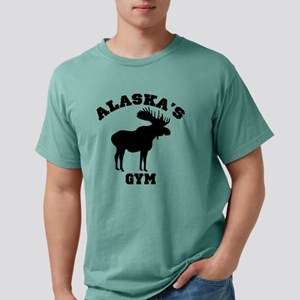 AK Moose Light Shirt Mens Comfort Colors Shirt