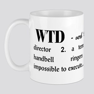 Watch the Director Mug