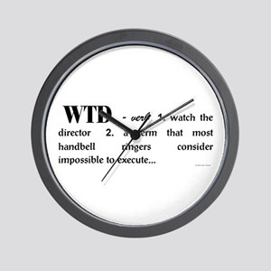 Watch the Director Wall Clock