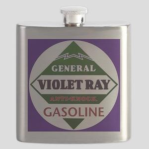 Violet Ray Gasoline Flask