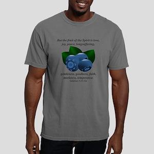 Blueberries - Fruit of t Mens Comfort Colors Shirt