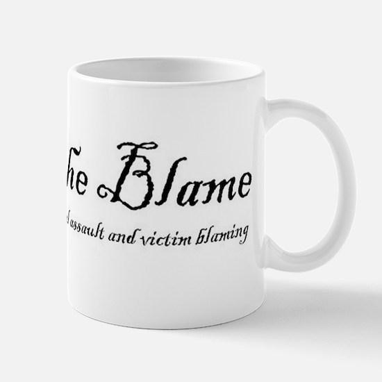SlutWalk Richmond's motto - Abolish the Blame Mug