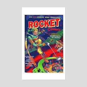 Rocket Comics #71 Sticker (Rectangle)