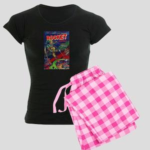 Rocket Comics #71 Women's Dark Pajamas