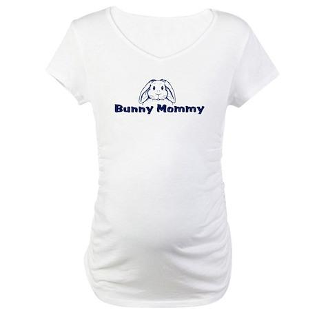 Bunny Mommy Maternity T-Shirt