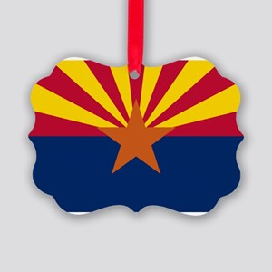 Arizona flag Picture Ornament