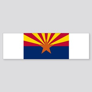 Arizona flag Sticker (Bumper)