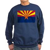 Arizona flag Sweatshirt (dark)