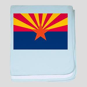 Arizona flag baby blanket