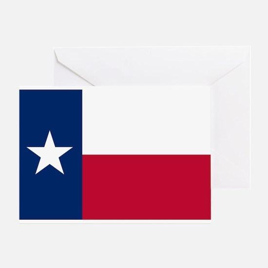 Texas flag Greeting Card