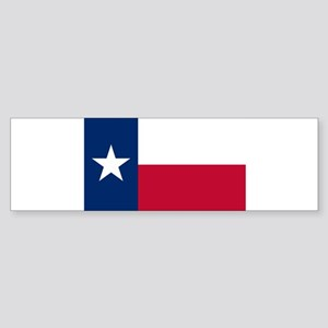 Texas flag Sticker (Bumper)