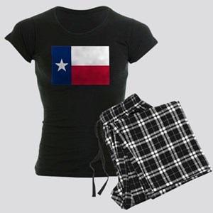 Texas flag Women's Dark Pajamas