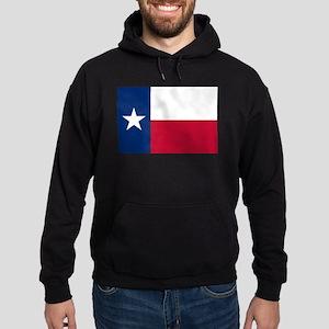 Texas flag Hoodie (dark)