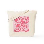 Pink & Green Tote Bag
