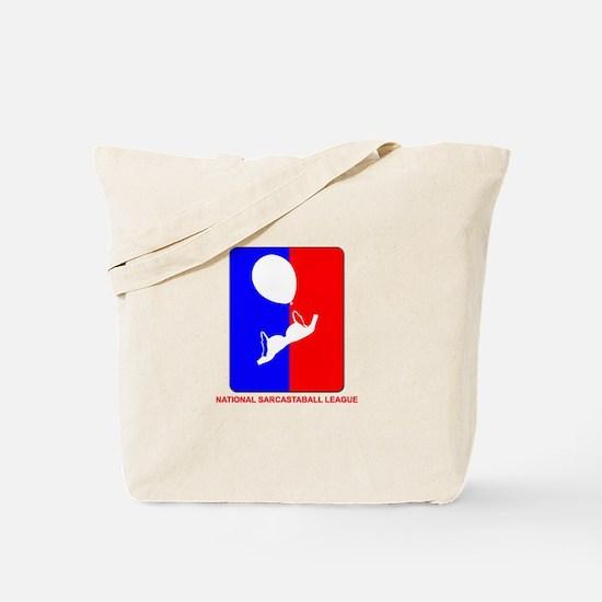 National Sarcastaball league Tote Bag
