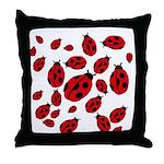 Ladybug Love Throw Pillow