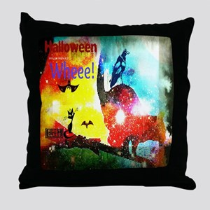 Halloween Fly By1 Throw Pillow