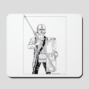 Roman Legionary, c400 AD Mousepad