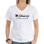 Schumin Web Logo Women's V-Neck T-Shirt